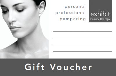 Exhibit Beauty Gift Voucher
